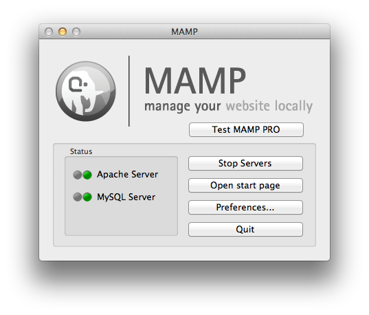 Installing WordPress locally on Mac with MAMP