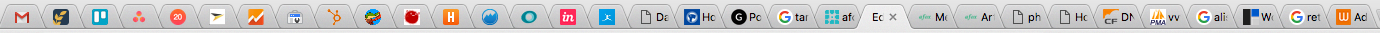 Cluttered Chrome