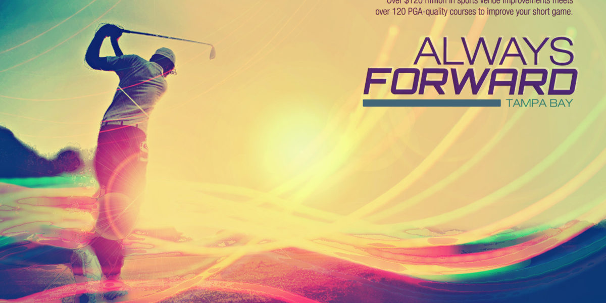 Golf – Always Forward Ad Concept