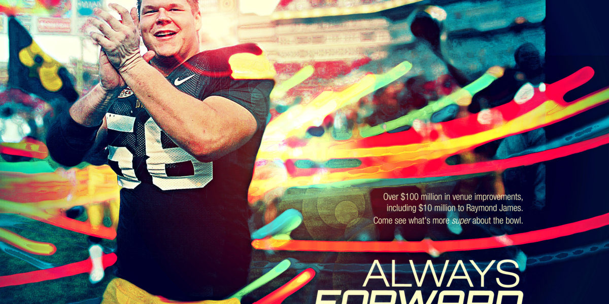 Football – Always Forward Ad Concept